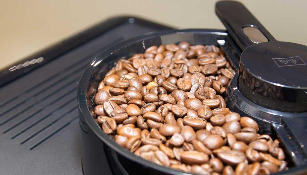 Genuss Kaffe Maschine Bohnen