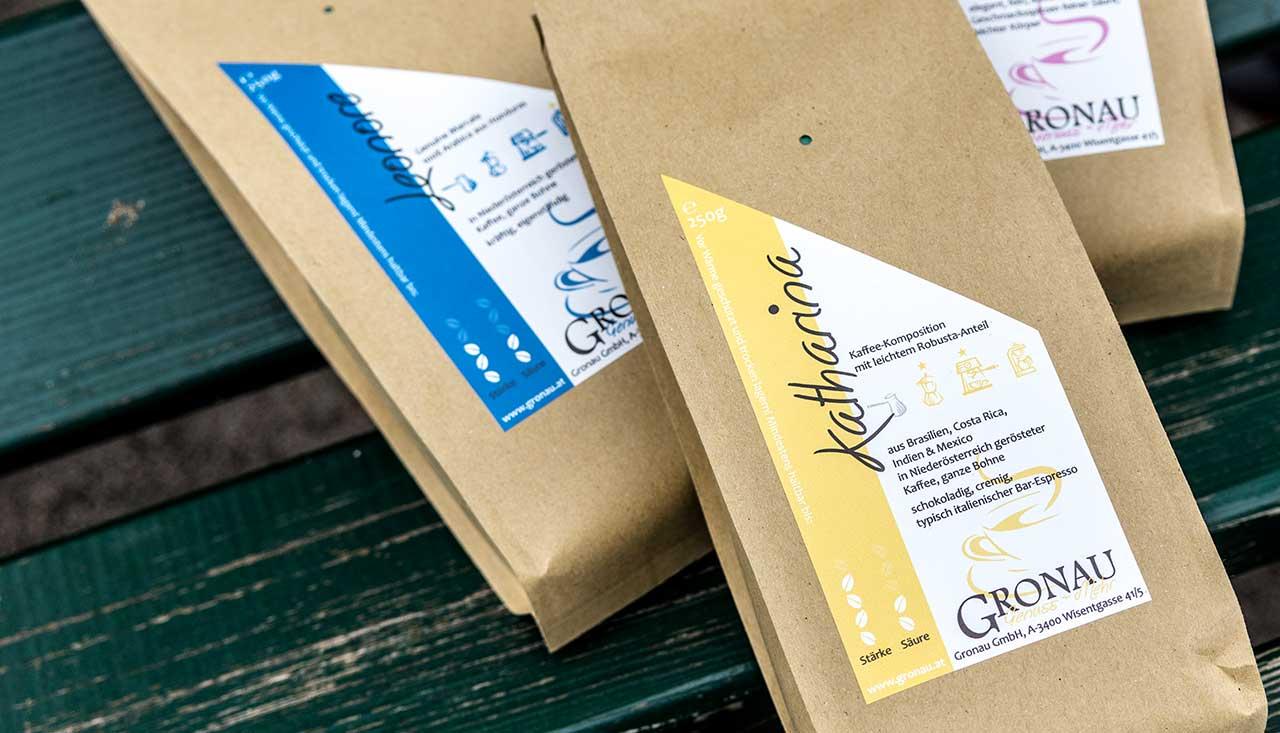 Genuss Kaffee Verpackung